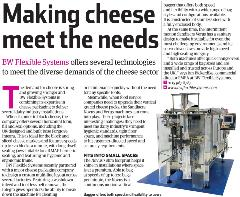 "Image: ""Making Cheese Meet the Needs"" in Machinery Update"